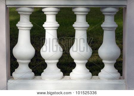 Column Barelief Fence.