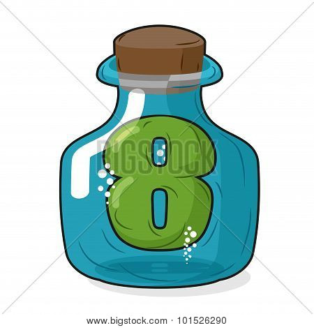 Seven In Bank For Chemical Research. Figure 7 Magic Bottle. Laboratory Studies And Experiments On Nu