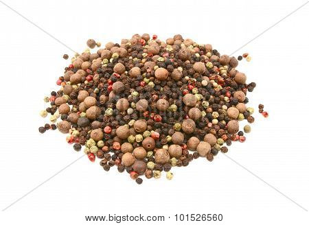 Mixed Peppercorns - Black, White, Pink, Green, Pimento