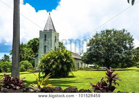 The Church of Hana, Maui, Hawaii