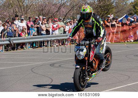 Motorcycle Stunt Rider - Stoppie