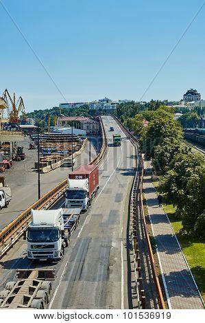 Maritime Cargo Port Of Odessa