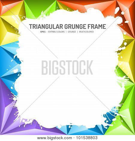 Abstract Mosaic Frame