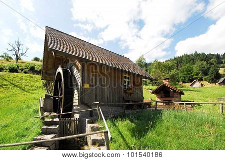 Ebet mill in the Black Forest