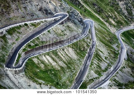 Stelvio Pass - Hairpins
