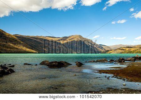 Xinjiang Kanas Lake China