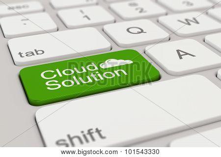 Keyboard - Cloud Solution - Green