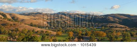 Autumn In The Valley. California. Panorama (#33)