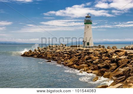 Lighthouse Walton Santa Cruz in California