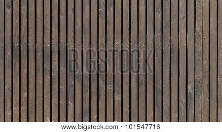 Old Brown Wooden Fence, Background Texture