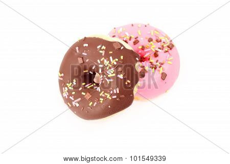 Isolated of donuts.