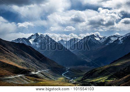 Xinjiang Tianshan Mountains China