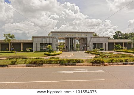 Parliament Building In Lilongwe