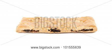 Cracker raisin cookies composition