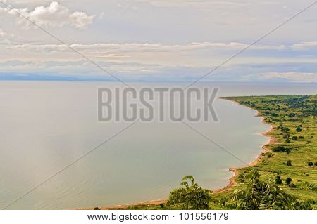 Aerial View At The Lake Malawi