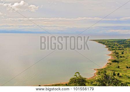 Aerial View At The Lake Malawi