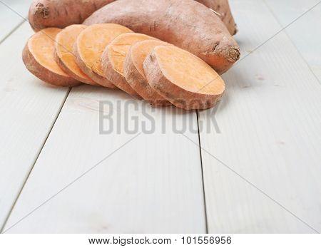 Sweet potato composition