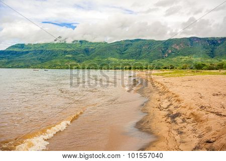 Lake Malawi At Chitimba Beach