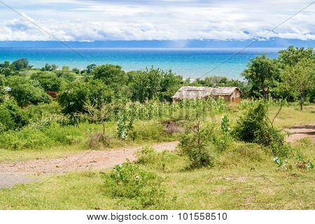 Landscape At The Lake Malawi