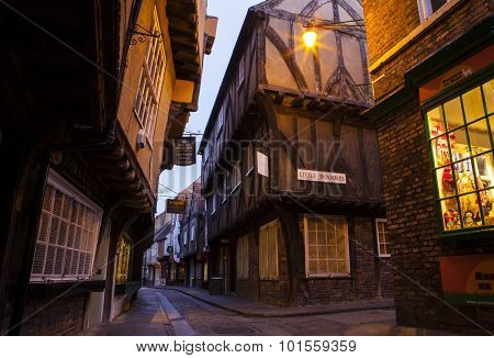 The Shambles In York