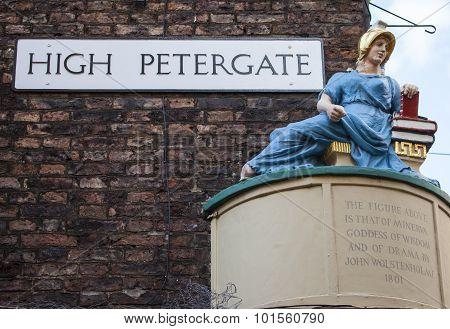 High Petergate In York