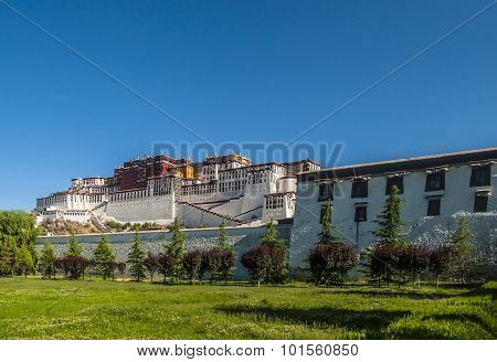 Potala Palace in China Tibet
