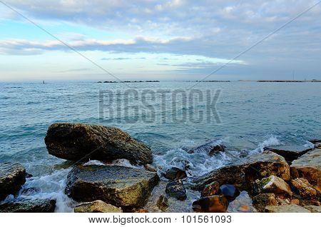 Crocks On The Shoreline