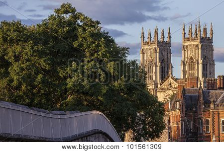 York Minster And The City Wall