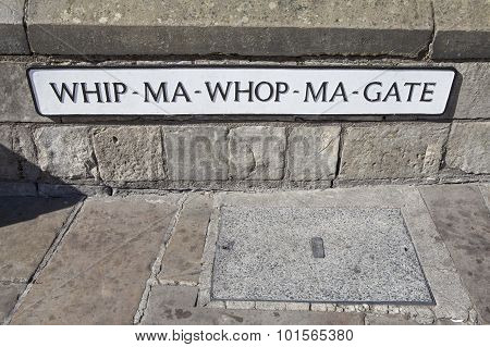 Whip-ma-whop-ma-gate In York