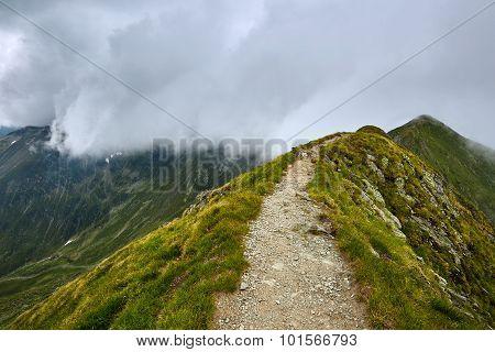 Mountaineous Summer Landscape