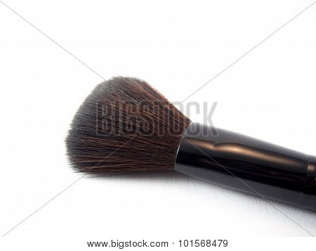Makeup Brush For Blusher, Rouge On Blush Cheek, Lady Beauty