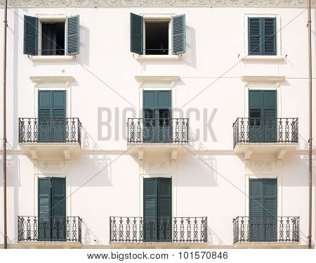 House with balconies