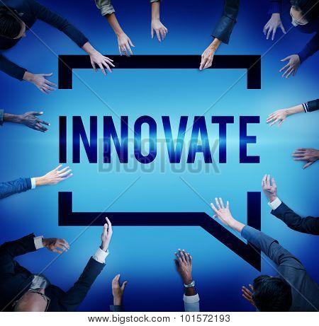 Innovate Innovation Planning Inspiration Ideas Concept