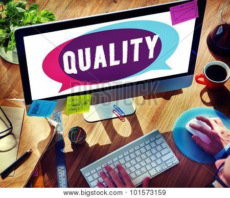 Quality Guarantee Value Grade Satisfaction Concept