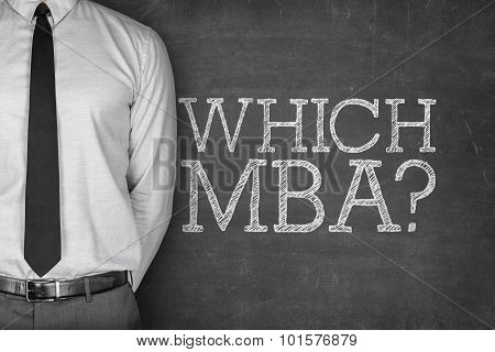 Which MBA on blackboard