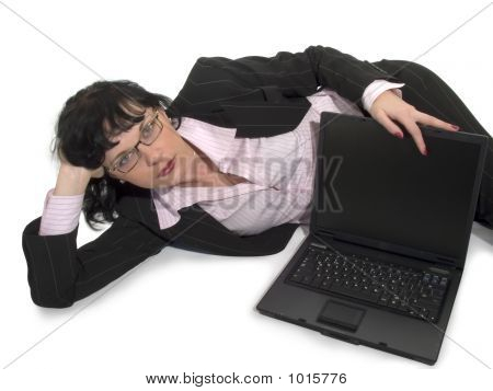 Woman And Compuer_2