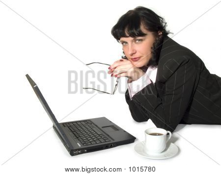 Woman And Computer_5