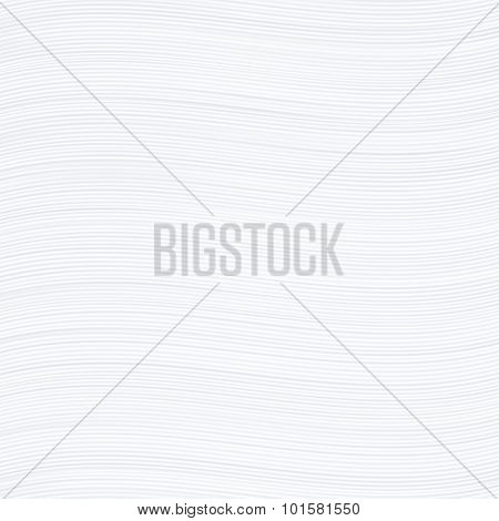 White wavy stripes texture or background.