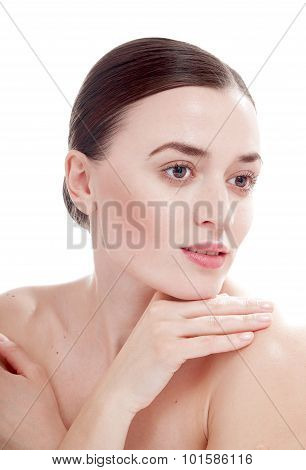 Woman With Well-groomed Skin