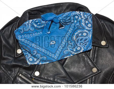 Jacket And Bandana Blue 1