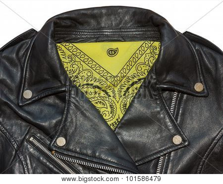 Jacket And Bandana Yellow