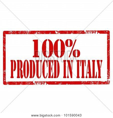 100% Produced In Italy