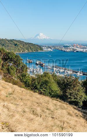Mount Rainier And Port 5