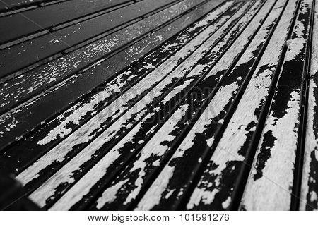Wood Park Bench Texture