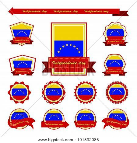 Venezuela Independence Day Flags