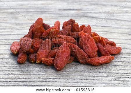 Dry Red Goji Berries (lycium Barbarum)