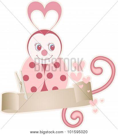 Baby Scrap Ladybird