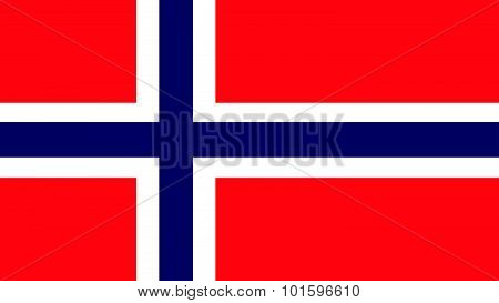 Norway Flag For Independence Day And Infographic Vector Illustration.