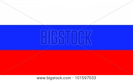 Russia  Flag For Independence Day And Infographic Vector Illustration.