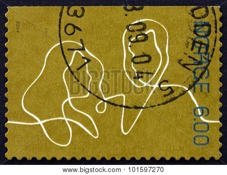 Postage Stamp Norway 2004 Man And Woman